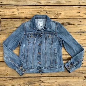 Old Navy | Lightly Distressed Jean Jacket Size S